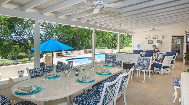 Casuarina villa in Sandy Lane, Barbados