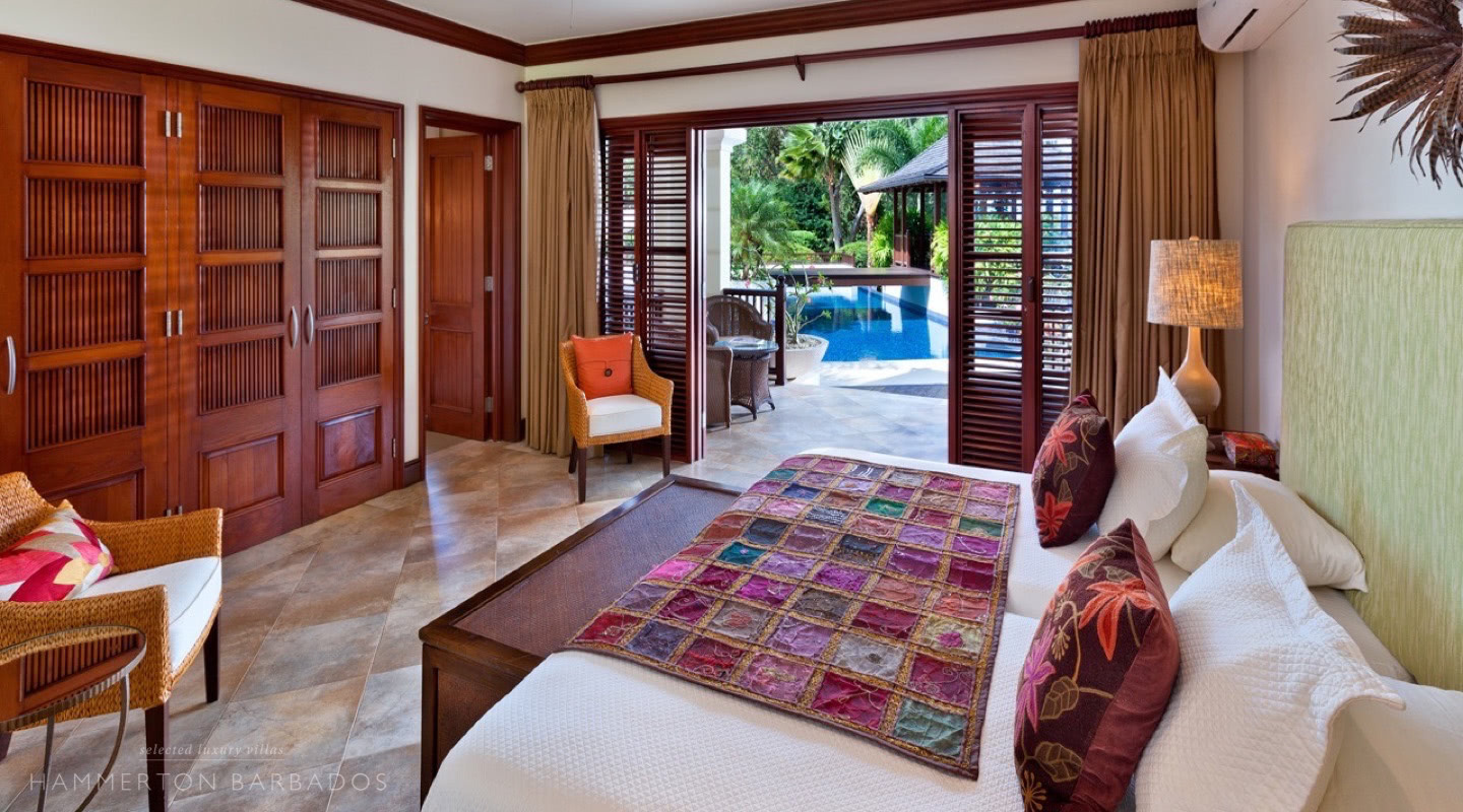 Alila villa in Sandy Lane, Barbados