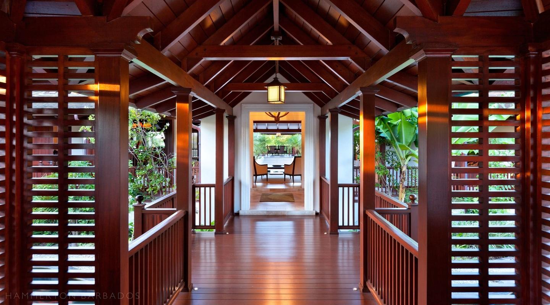 Alila villa in Sandy Lane, Barbados
