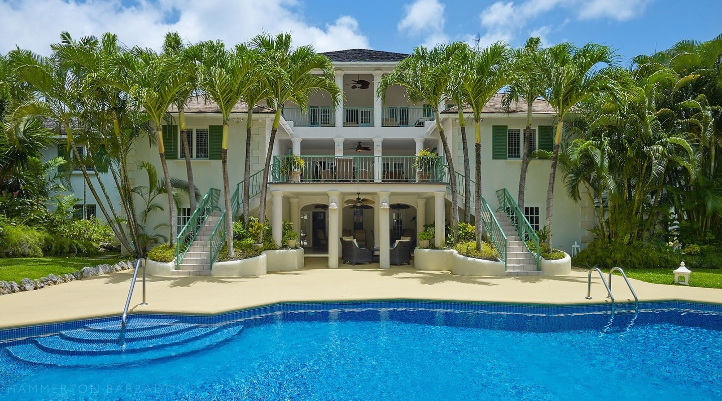 Aliseo villa in Sandy Lane, Barbados