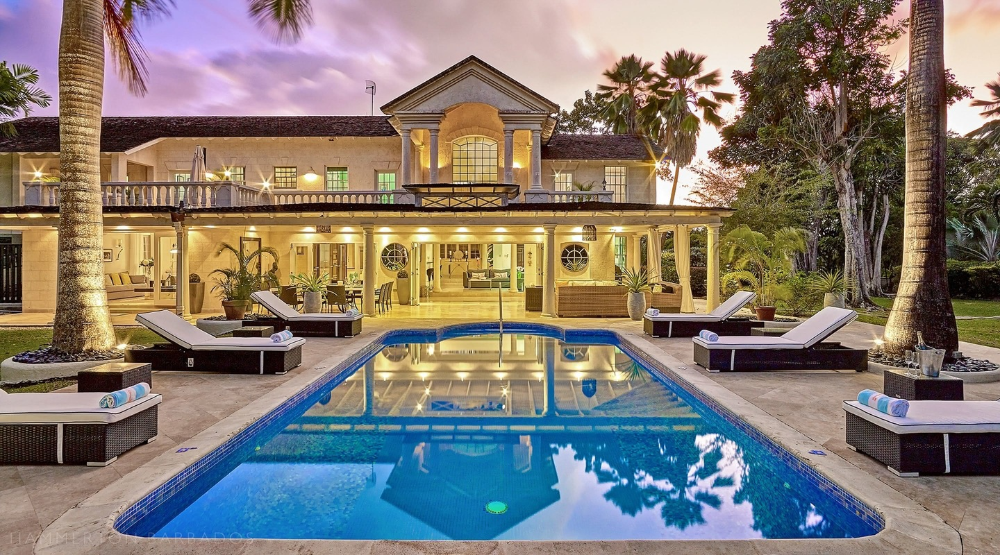 Amberley House villa in Sandy Lane, Barbados