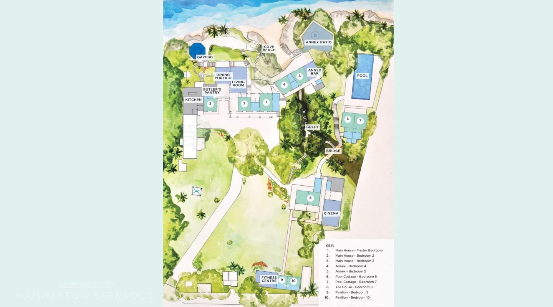 Crystal Springs villa in The Garden, Barbados