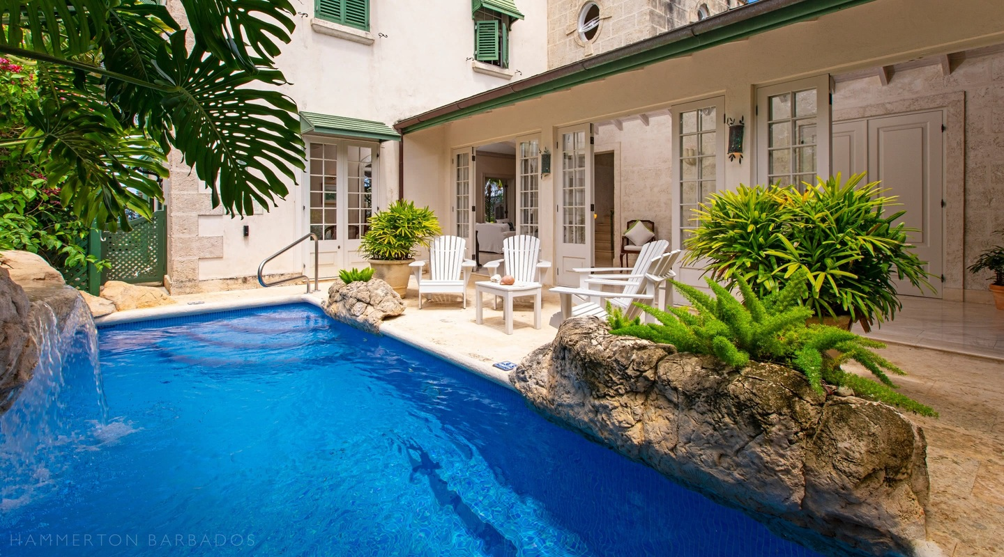 Caprice villa in Reed's Bay, Barbados