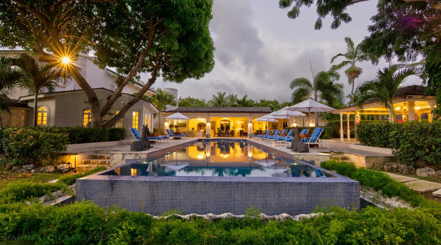 Casablanca villa in Sandy Lane, Barbados