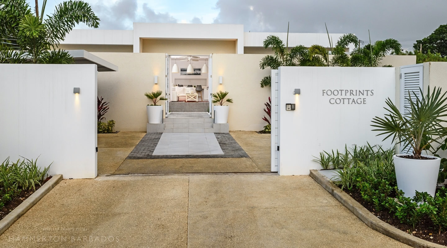 Footprints Cottage villa in Porters, Barbados