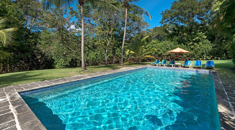 Evergreen villa in Sandy Lane, Barbados