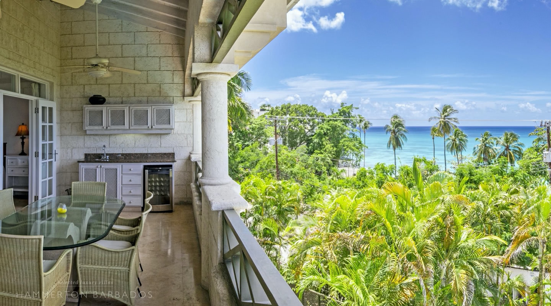 Summerlands 106 - Penthouse villa in Prospect, Barbados