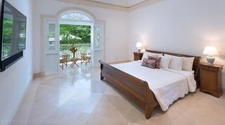 Hemingway House Bedroom