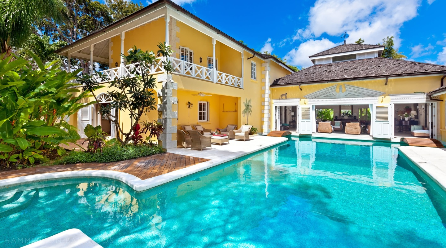 Jamoon villa in Sandy Lane, Barbados